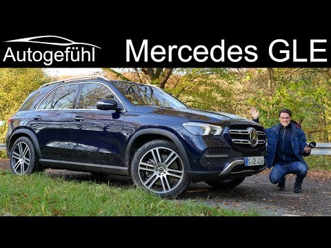 Mercedes GLE FULL REVIEW 350d all-new gen 2020 - Autogefühl