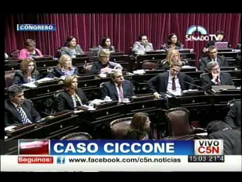 C5N - POLITICA: CASO CICCONE [HABLA BOUDOU]
