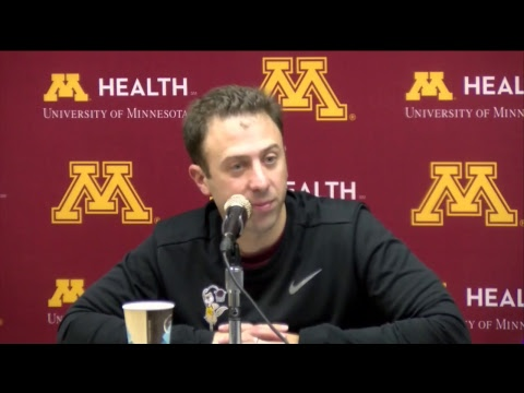 Press Conference: Richard Pitino Previews UMD Exhibition