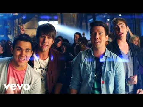 Big Time Rush ft. Mann - Music Sounds Better (Official Video)