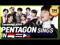 Gambar cover K-POP STARS sing in THREE Languages🎤| INA/TAG/RUS | PENTAGON | TRANSONGLATION