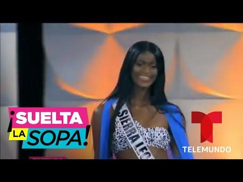 Miss Sierra Leona tuvo que hacer lo imposible por llegar a Miss Universo | Suelta La Sopa