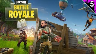 MODO BATTLE ROYALE!! :O | FORTNITE Gameplay Español