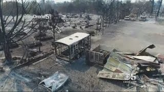 SKYDRONE 5: Best of Skydrone 5 Video Of Coffey Park Destruction