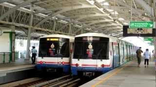 Bangkok BTS & MRT & ARL バンコクの電車