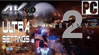 Destiny 2 Gameplay [PC] Ultra Settings 4K UHD @ 60 fps - 3840 x 2160px (Nvidia Geforce Gtx 1080)