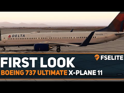 Boeing 737 Ultimate Xplane11: The FSElite First Look