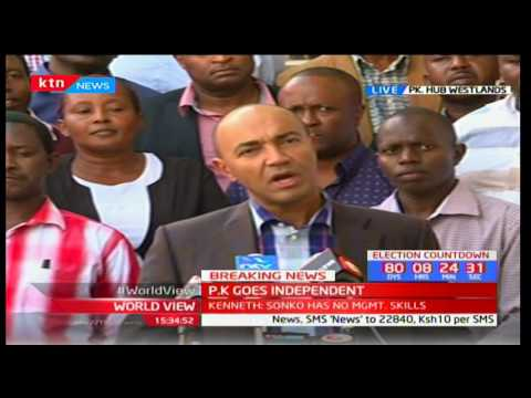 Peter Kenneth: I have never been involved in corruption but i am determined to fight it - 동영상