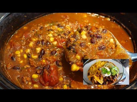 Crockpot Chili Recipe | Slow Cooker Chili | Slow Cooker Recipes