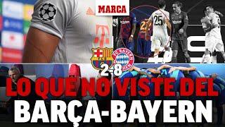 Barcelona 2-8 Bayern: el 'mordisco' de Vidal, un zarpazo en un brazo... I MARCA