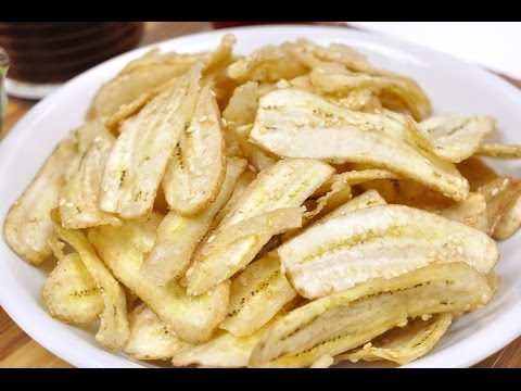 Sweet Banana Chips (Thai Dessert) – กล้วยฉาบ