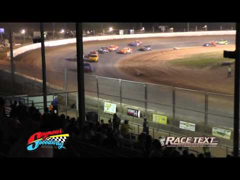 Seymour Speedway - 8-10-2014- 4 Cylinder feature