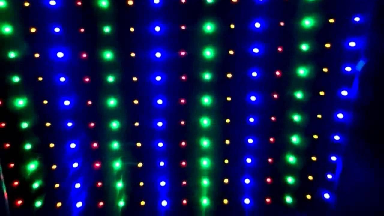 Como fazer cortina de LED  YouTube