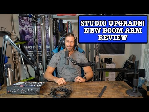 Studio Upgrade! O.C. White ProBoom Ultima LP Adjustable Microphone Boom Review