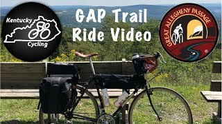 GAP Trail:  Riding the Great Allegheny Passage
