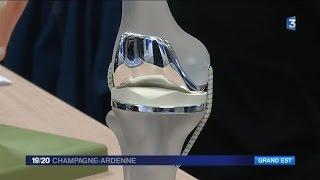 La Haute-Marne à la pointe de la prothèse de genou
