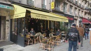 París inicia dos semanas de nuevas restricciones en bares y restaurantes
