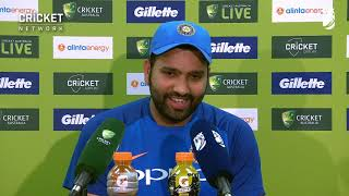 Exhausted Rohit reflects on century