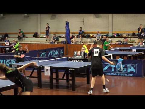 Table Tennis Helsinki Open 2016 part 1