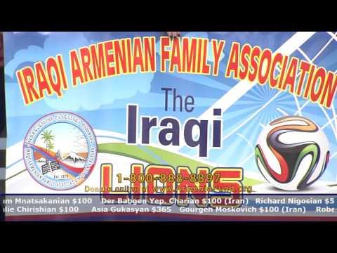 Iraqi-Armenian Family Association at Armenia Fund Telethon 2015