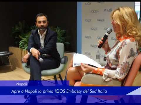 Napoli: Apre la prima IQOS Embassy del Sud Italia - 02 Ottobre 2017