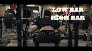 HIGH BAR VS. LOW BAR SQUATS: HOW TO USE BOTH