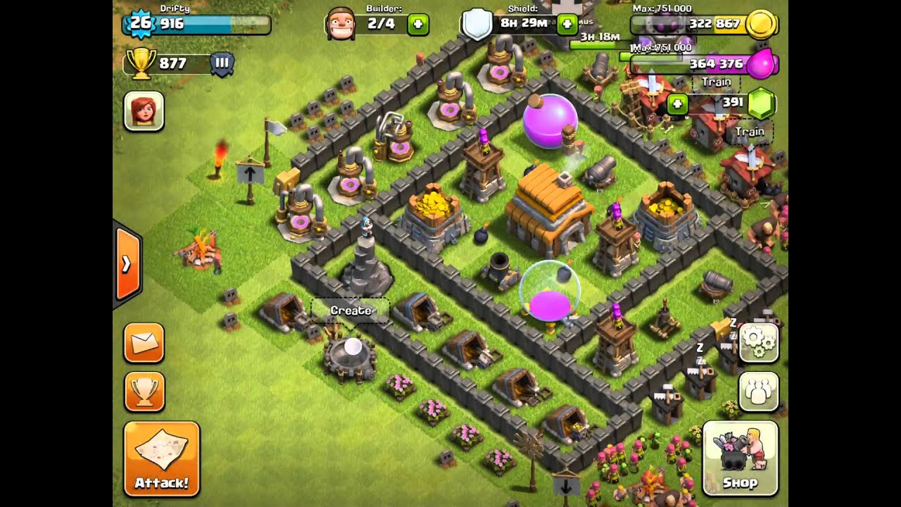 READ DESCRIPTION] CLASH OF CLANS: Best TOWN HALL LEVEL 5 - YouTube