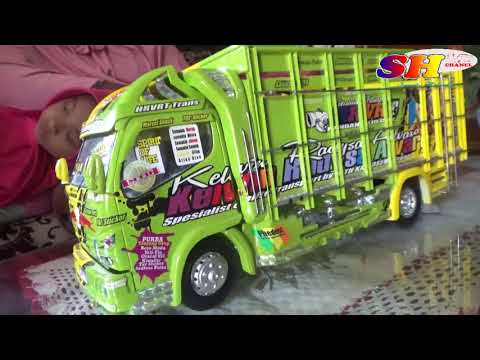 Full Download] Miniatur Truk Anti Gosip Garapan Mth Karoseri Model