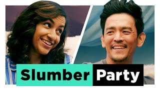 Celebrity Slumber Party with John Cho