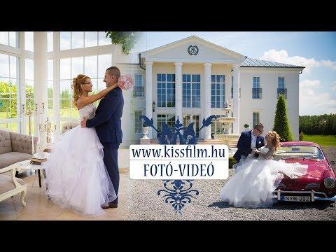 Beáta és Tamás esküvője Nyíregyházán!  Fotózás: (Le Til kúria - Biri)