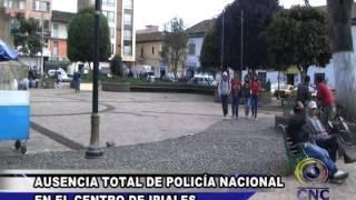 AUSENCIA TOTAL DE POLICÍA NACIONAL EN EL CENTRO DE IPIALES