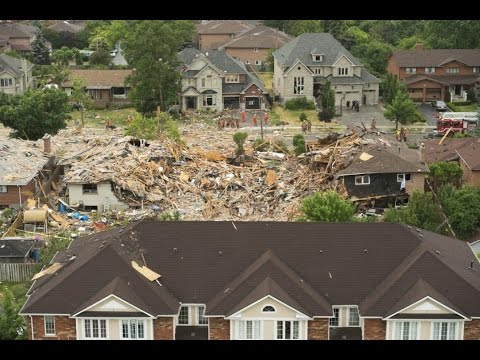 House Explosion In Mississauga, Ontario - Has The False Flag World Tour Come To Canada?