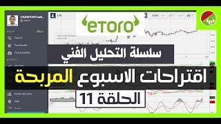 سلسلة التحليل الفني forex الحلقة 11   توصيات forex أسبوعية   2017 Etoro Maroc