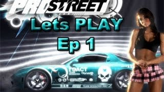 Need For Speed Pro Street Lets Play Ep 1 | SLAPTrain