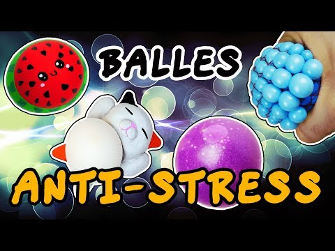 BALLES ANTI STRESS DIY FACILE