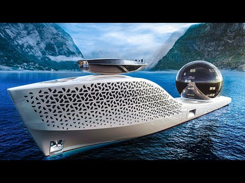 The World's First Nuclear-Powered Superyacht