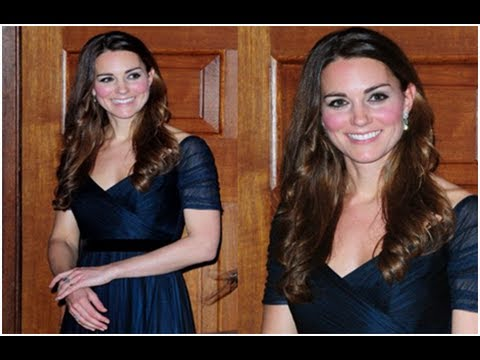 Kate Leaves William To Babysit And Dons Glamorous Ball Gown For Charity Gala
