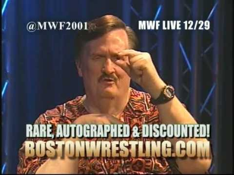 President Paul Bearer In-Studio - November 2012 MWF Superstar Zone (Boston Wrestling)