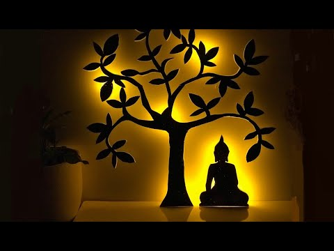 Diy Wall Hanging Craft Ideas Study Room Decor Meditation Room Decoration Buddha Decor Ideas Youtube