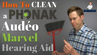 How to Clean a Phonak Audeo Marvel Hearing Aid | Audeo M-312 & Audeo MR & Earmolds