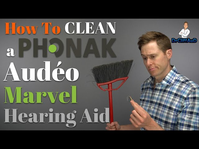 How to Clean a Phonak Audeo Marvel Hearing Aid   Audeo M-312 & Audeo MR & Earmolds