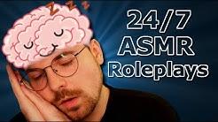 #ASMR 🔴 ENTSPANNT EINSCHLAFEN | 24/7 ASMR Roleplays [deutsch]