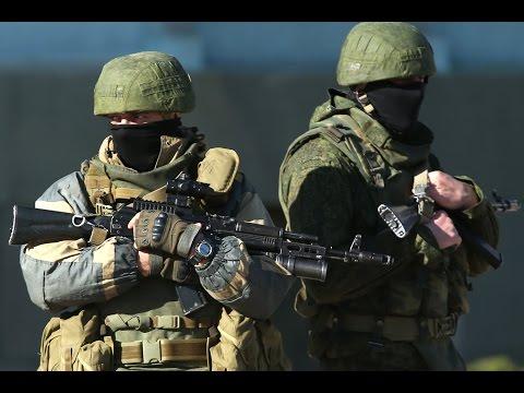 Вежливые люди в Крыму!