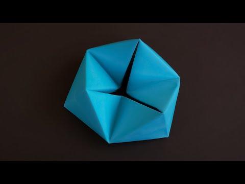 Объемная игрушка оригами