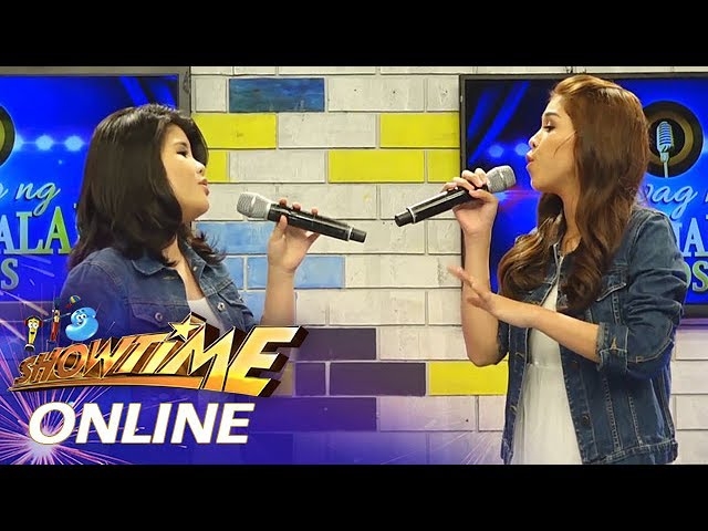 "It's Showtime Online: Pauline Agupitan & Marielle Montellano sing ""When You Believe"""