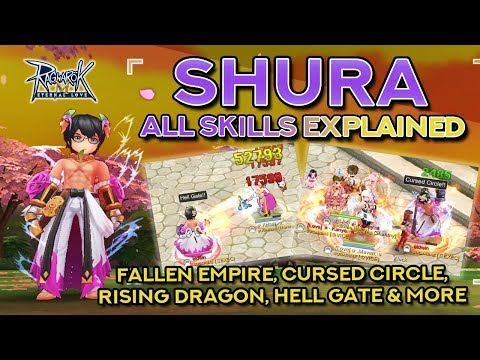 SHURA SKILLS DEMO + EXPLANATION | Ragnarok Mobile Eternal Love
