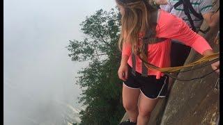 Most Dangerous Hike- Huashan, China