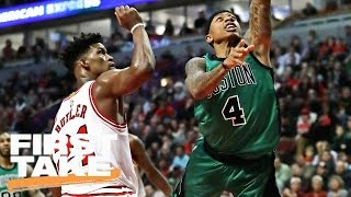 Stephen A. Smith: Bulls Have Best Shot At Upsetting Celtics | First Take | April 14, 2017