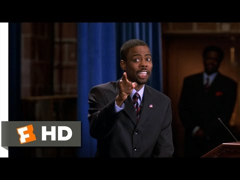 Head of State (9/10) Movie CLIP - Yes, I'm an Amateur (2003) HD