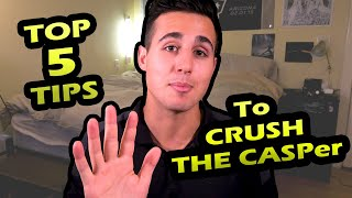 My Top 5 Tips to CRUSH The CASPer | Darius Med